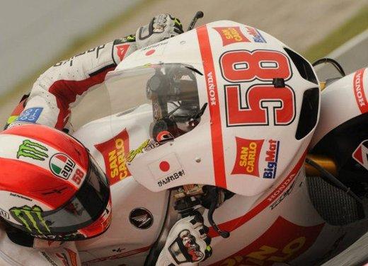 Al GP di Valencia tutti in pista col 58 di Marco Simoncelli - Foto 9 di 42