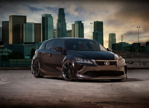 Lexus CT 200h Tuning by Five Axis