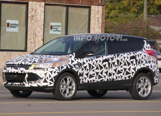 Arriva la Ford Kuga di seconda generazione: nuove foto spia