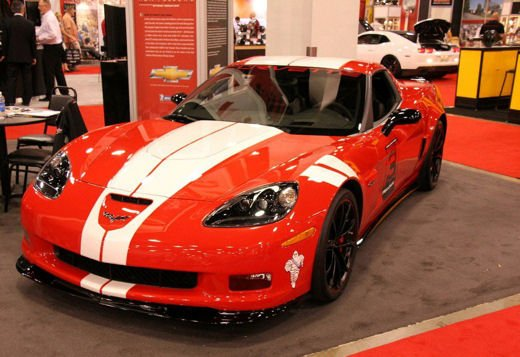 "Chevrolet Corvette Z06 Ron Fellow ""Hall of Fame"" Tribute"