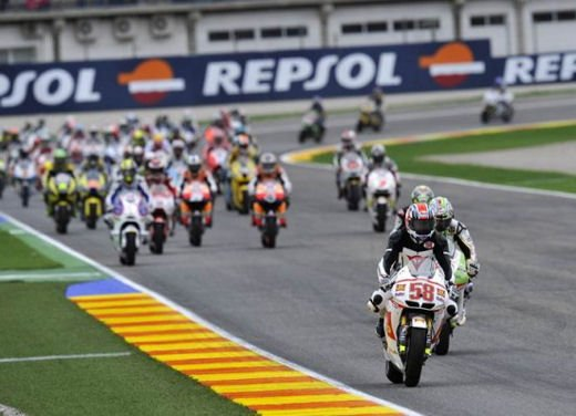 I piloti del MotoGP ricordano Marco Simoncelli - Foto 16 di 18