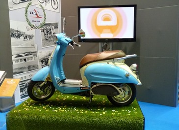 Tutti gli scooter di EICMA 2011