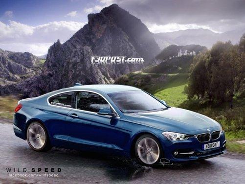 Nuovo rendering per la BMW Serie 4, attesa coupé di Monaco - Foto 1 di 16