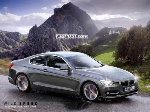 Nuovo rendering per la BMW Serie 4, attesa coupé di Monaco - Foto 2 di 16