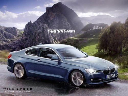 Nuovo rendering per la BMW Serie 4, attesa coupé di Monaco - Foto 3 di 16