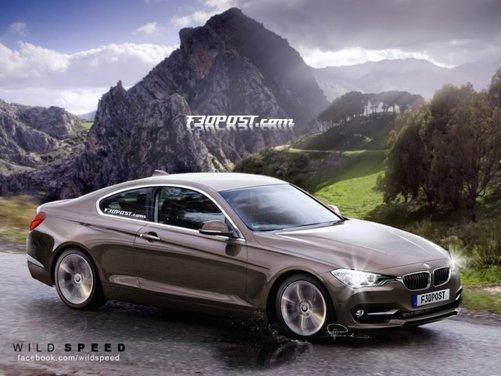 Nuovo rendering per la BMW Serie 4, attesa coupé di Monaco - Foto 4 di 16
