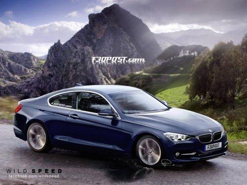 Nuovo rendering per la BMW Serie 4, attesa coupé di Monaco - Foto 5 di 16