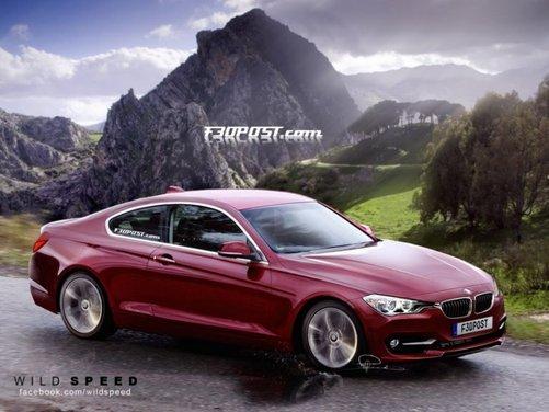 Nuovo rendering per la BMW Serie 4, attesa coupé di Monaco - Foto 6 di 16