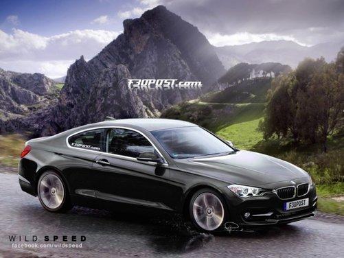 Nuovo rendering per la BMW Serie 4, attesa coupé di Monaco - Foto 7 di 16