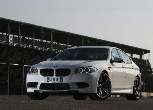 Nuova BMW M5, test drive a Misano Adriatico - Foto 2 di 20