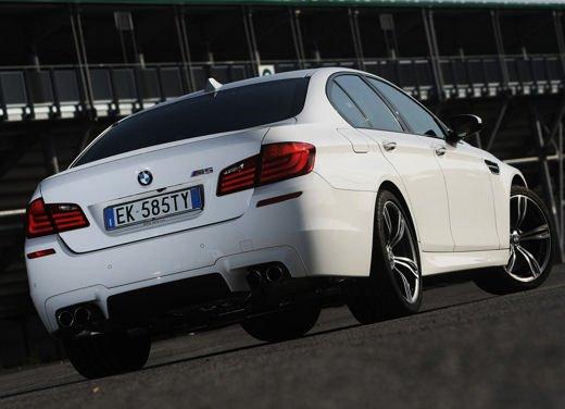 Nuova BMW M5, test drive a Misano Adriatico - Foto 3 di 20