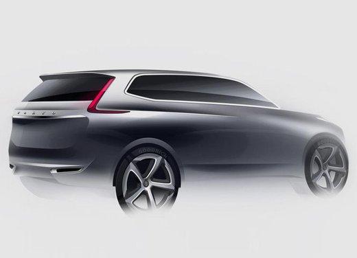 Nuova Volvo XC90, teaser ufficiali per la lussuosa SUV in arrivo nel 2014 - Foto 2 di 16