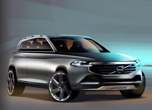 Nuova Volvo XC90, teaser ufficiali per la lussuosa SUV in arrivo nel 2014