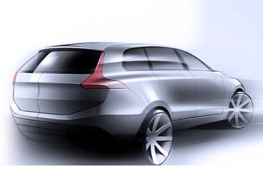 Nuova Volvo XC90, teaser ufficiali per la lussuosa SUV in arrivo nel 2014 - Foto 3 di 16