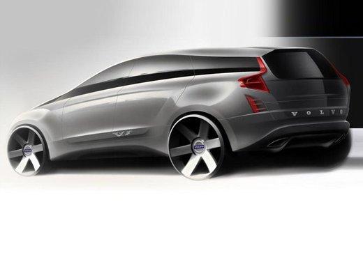 Nuova Volvo XC90, teaser ufficiali per la lussuosa SUV in arrivo nel 2014 - Foto 4 di 16