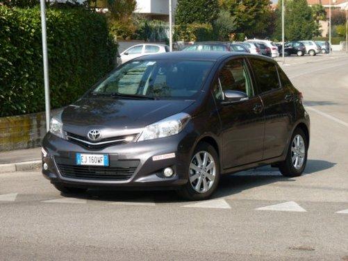 Nuova Toyota Yaris Test Drive - Foto 9 di 33