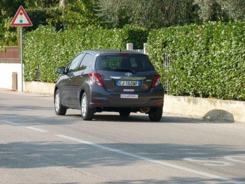 Nuova Toyota Yaris Test Drive - Foto 11 di 33