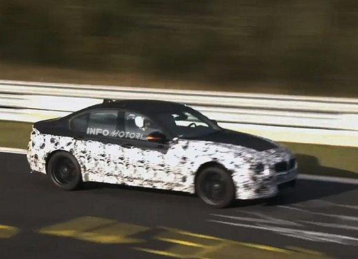 BMW M3 video spia durante i test al Nürburgring