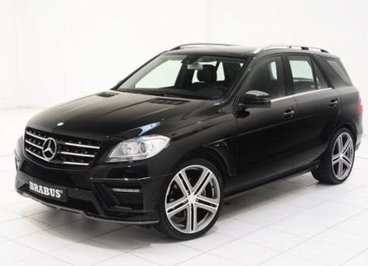 Nuova Mercedes Classe M tuning by Brabus