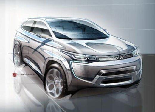 Mitsubishi concept a Ginevra 2012 - Foto 9 di 10