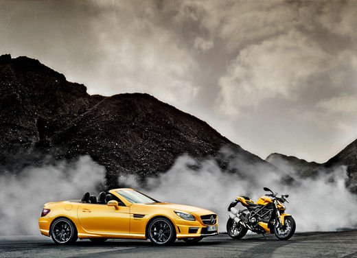 Mercedes SLK 55 AMG Streetfighter Yellow - Foto 2 di 16