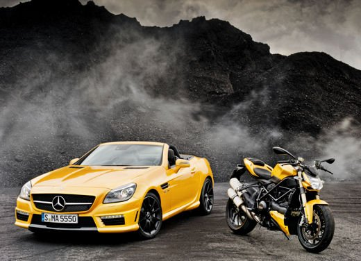 Mercedes SLK 55 AMG Streetfighter Yellow - Foto 4 di 16