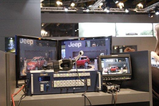 Panoramica dagli stand del Motor Show di Bologna 2011 - Foto 5 di 41