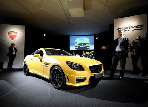 Mercedes SLK 55 AMG Streetfighter Yellow