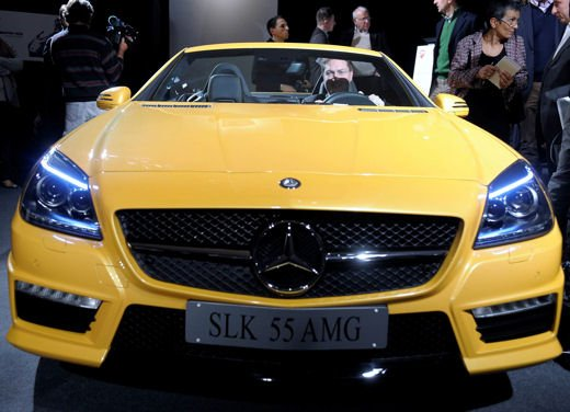 Mercedes SLK 55 AMG Streetfighter Yellow - Foto 16 di 16