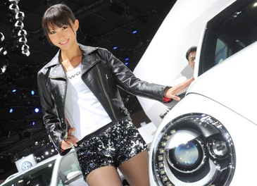 Le ragazze del Salone di Tokyo 2011