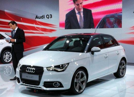 Audi A1 Sportback 5 porte Auto più Bella del Motorshow 2011 - Foto 8 di 10