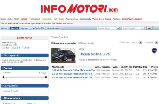 1100 Auto con il Superbollo, la lista completa - Foto 11 di 12