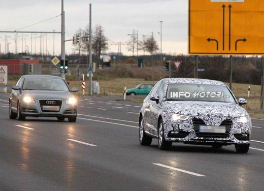 Nuova Audi A3 a confronto con la precedente Audi A3