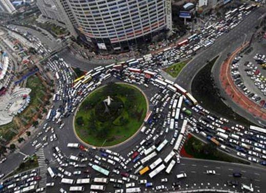 Blocco del traffico in fascia verde a Roma lunedì 7 gennaio 2013 - Foto 1 di 9