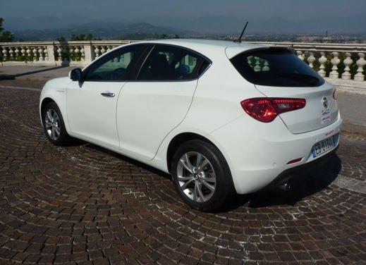 Alfa Romeo Giulietta a tutto gas con il 1400 Turbo benzina GPL da 120 CV