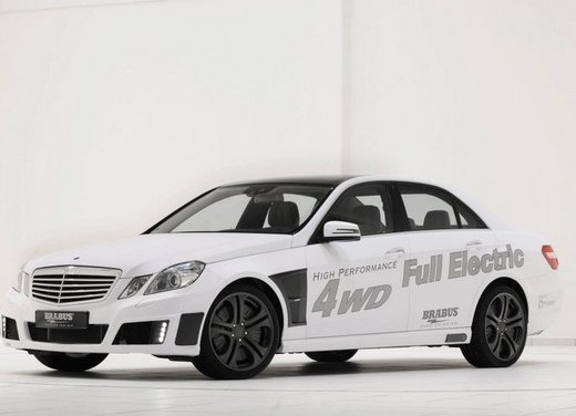 Mercerdes Classe E Full Electric by Brabus