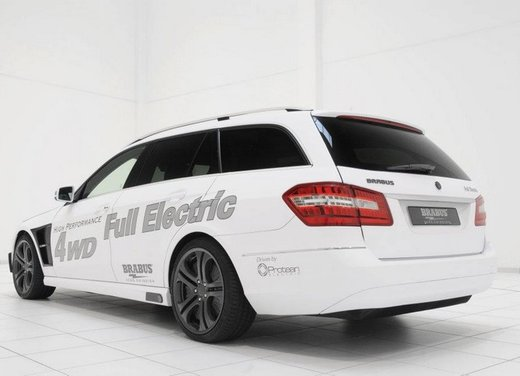 Mercerdes Classe E Full Electric by Brabus - Foto 7 di 32