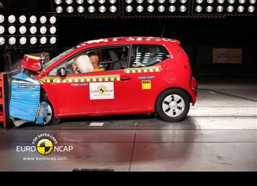 Volkswagen up! ottiene le 5 stelle EuroNCAP