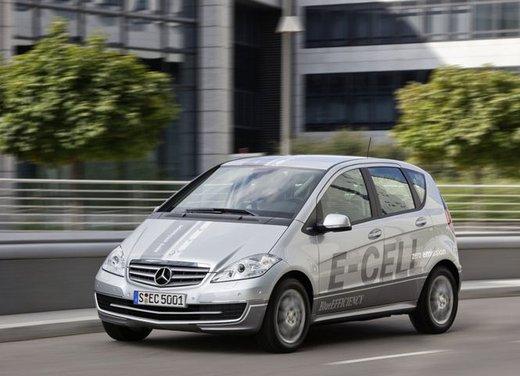 Mercedes Classe A E-Cell con ricarica induttiva senza cavo