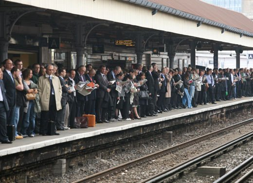 Sciopero treni Trenitalia venerdì 8 marzo 2013 - Foto 7 di 12