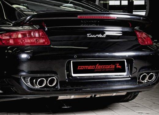 Porsche 911 Turbo con scarichi Romeo Ferraris - Foto 2 di 16