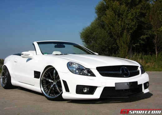 Mercedes SL R230 tuning by PP Exclusive