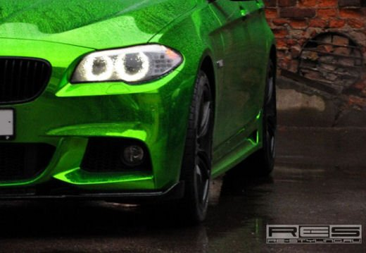 BMW Serie 5 M tuning cromato by Re-Styling - Foto 1 di 16