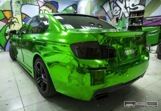 BMW Serie 5 M tuning cromato by Re-Styling - Foto 3 di 16