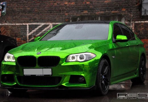 BMW Serie 5 M tuning cromato by Re-Styling - Foto 7 di 16