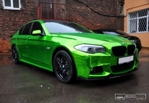 BMW Serie 5 M tuning cromato by Re-Styling - Foto 8 di 16
