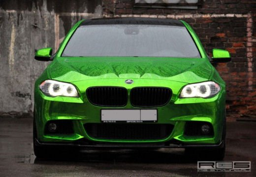 BMW Serie 5 M tuning cromato by Re-Styling - Foto 9 di 16
