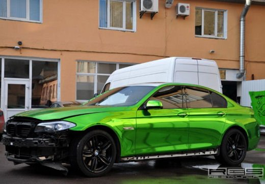 BMW Serie 5 M tuning cromato by Re-Styling - Foto 14 di 16