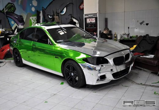 BMW Serie 5 M tuning cromato by Re-Styling - Foto 12 di 16