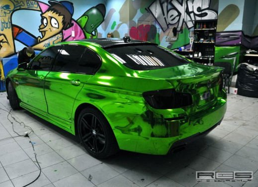 BMW Serie 5 M tuning cromato by Re-Styling - Foto 15 di 16